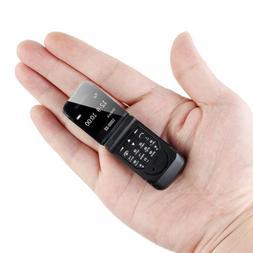 "Tinkleo 0.66"" J9 Mini Flip Phone Wireless Bluetooth Smallest"