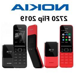 Nokia 2720 Flip dual SIM 4G Feature Phone WiFi KaiOS Qualcom
