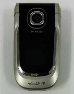 Nokia 2760 - Blue and Silver  Cellular Flip Phone