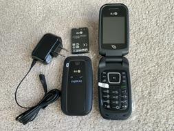 LG 440G  Wireless Flip Phone  - Black