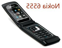 Nokia 6555 - Black  3g bluetooth camera fashionable flip Cel