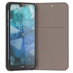 Nokia 7.1 Flip Cover - Official Nokia Accessory - Grey