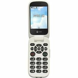Tracfone Doro Flip Cell Phone for Seniors