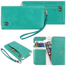 Case+Stand PU Leather Purse/Clutch/Pouch/Wallet Fits Apple H