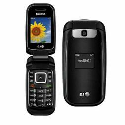 LG True - B460 - Cricket Wireless - Flip Phone - Black