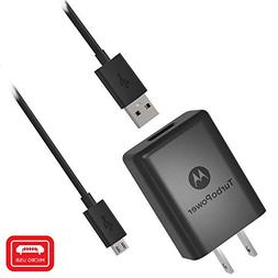 Motorola SPN5970A TurboPower 15+ QC3.0 Wall Charger with SKN