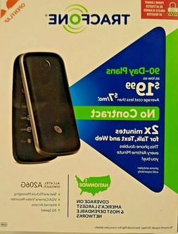 TracFone Alcatel A206 3G Prepaid Flip Phone