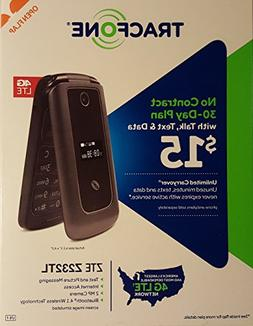 TracFone ZTE Cymbal-G 4G LTE Z232TL - Flip Phone