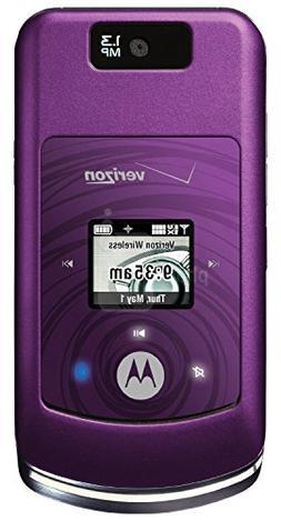 Verizon  - Motorola MOTO W755 CDMA 3G Camera Cell Phone - Pu