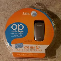 Samsung A107 Go PrePaid Cell Flip Phone from AT&T - Brand Ne