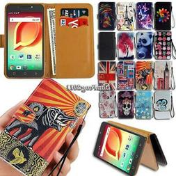For Alcatel 1 3 5 7 Series 2019 Flip Leather Wallet Stand Co