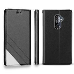 For Alcatel 7 PU Leather Flip Wallet Card Slots Stylish Phon