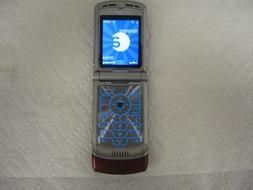 Alltel Motorola RAZR V3a V3 No Contract Red CDMA Camera Flip