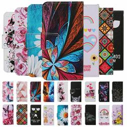 For Apple iphone 11 Pro Max 8 7 Case Painted Wallet Flip Car