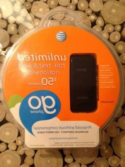 AT&T Go Phone Prepaid Samsung a157V Flip Cell Phone New Fact