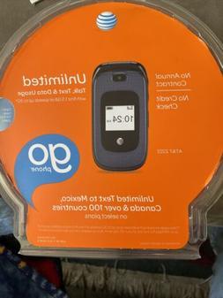 AT&T Z222 GoPhone - Dark Blue  Cellular Phone GoPhone NEW