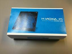 ZTE Axon M Z999 64GB LTE 4G Black 20MP AT&T GSM Unlocked Dua