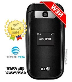 New Lg B470 At T Prepaid Basic 3g Flip