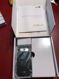 LG B470 AT&T Prepaid Basic Flip Phone, Black