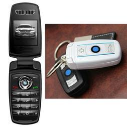 Bluetooth Unlocked GSM Dialer Pocket Tiny Flip Mini Key Mobi