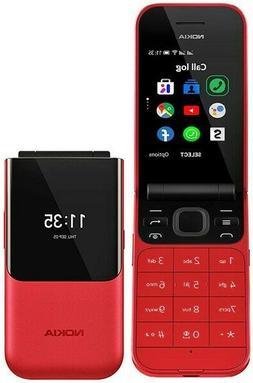 BRAND NEW NOKIA 2720 FLIP 4G LTE DUAL 2019 FM CAMERA MP3 UNL