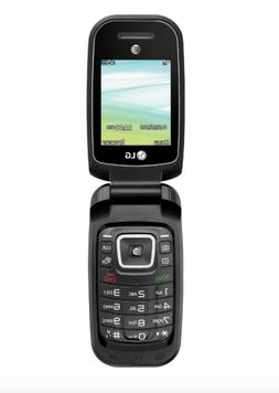 Brand New AT&T Prepaid LG B470 GSM Flip Basic Phone Bluetoot