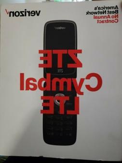 Brand NewZTE Cymbal Z233 4G LTE Verizon Wireless Prepaid Bas
