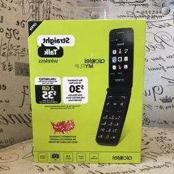 BRAND NEW Alcatel My Flip MyFlip Prepaid Basic Cell Phone St
