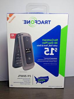 *BRAND NEW* TRACFONE ZTE Z232TL 4G LTE Prepaid Flip Phone  *