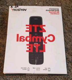 BRAND NEW Verizon Prepaid ZTE Cymbal LTE - HD VOICE Flip Pho