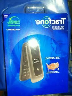 BRAND NEW ZTE Z233VL TracFone prepaid  Flip Cell Phone