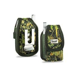 Camo Flip Phone Universal Extra Small Holster/ Case/ Belt Cl