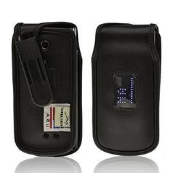 Turtleback Fitted Case for LG Exalt VN360 Flip Phone Black L