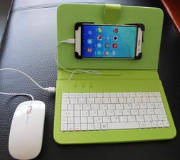 Case Protector With USB Keyboard Mouse For Most Android Mobi