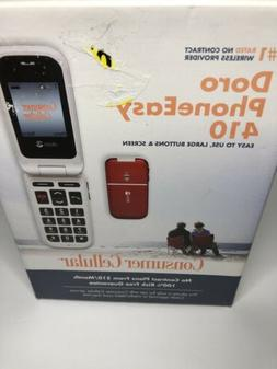 Cell Phone RED BIG BUTTONS ELDERS CELL PHONE No Contract DOR
