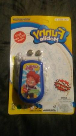 Children's toy flip cell phone, talks, music, lights up, bat