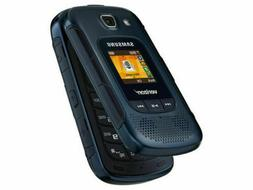 Samsung Convoy 4 Blue Verizon - Rugged Flip Cellular Phone -