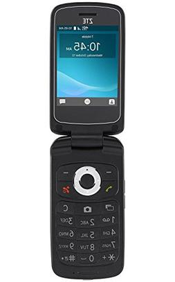 ZTE Cymbal Z-320 Z320 T-Mobile Flip Phone 4G LTE - Black - N