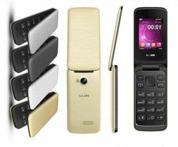 "BLU Diva Flex 2.4"" T350 Cell Phone VGA Unlocked Flip Phone T"