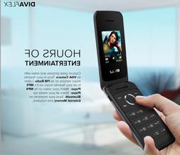 BLU Diva FLEX T370 - Cellular phone - dual-SIM - microSDHC s
