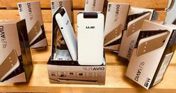 BLU Diva Flip 2.4'' White 2G Cell Phone Flip VGA Dual SIM Ne