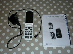 DORO PHONE EASY 632 MOBILE PHONE FLIP TOP LID, CHARGER INSTR