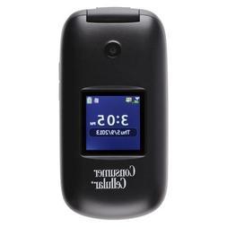 CONSUMER CELLULAR Envoy Mobile Phone Black
