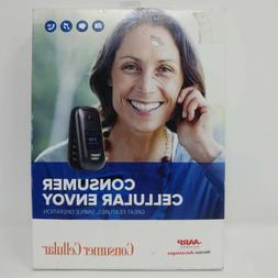envoy u3900 flip phone black consumer cellular
