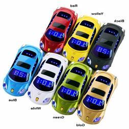 Flashlight Car Model Flip Mini Mobile Phone F15 Dual Sim Car