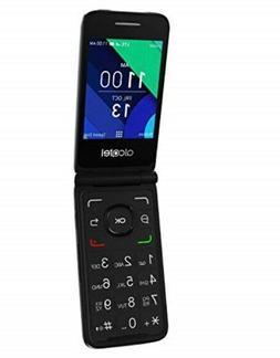 Flip Alcatel 4G LTE Senior easy to Use Unlocked Keypad Camer
