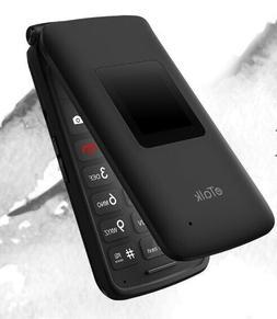 Flip Cell Phone Unlocked Senior easy to Use Keypad Camera 2.