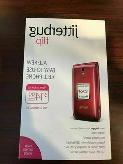 GreatCall Jitterbug Flip Cell Phone  - Red
