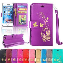 Flip Leather Card Wallet Protective Phone Cover Case For App