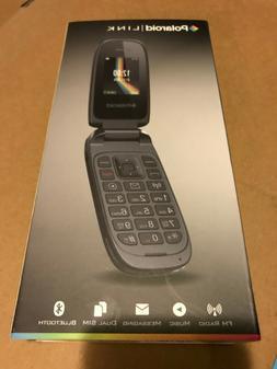 Polaroid Flip Phone Link A2- Brand New GSM Unlocked Phone wi